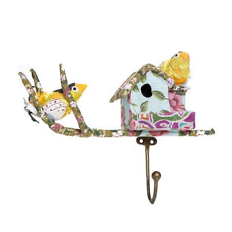 Debenhams - Birds and house fabric hook