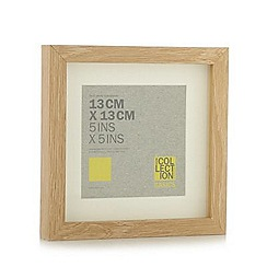 Home Collection Basics - Small wooden 5 x 5 inch photo frame