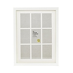 Home Collection Basics - White aperture photo frame