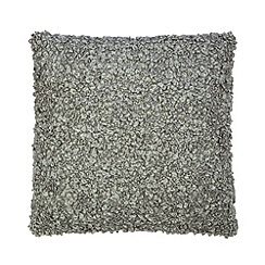 Home Collection Basics - Grey boucle cushion