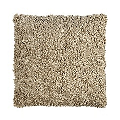 Home Collection Basics - Natural boucle cushion