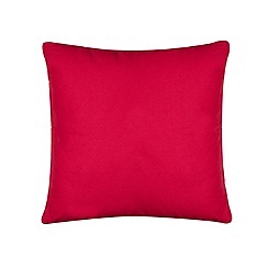 Home Collection Basics - Pink cotton canvas cushion