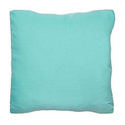 Home Collection Basics - Turquoise weave cushion