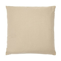 Home Collection Basics - Natural plain textured cushion