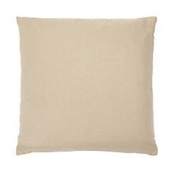 Home Collection Basics - Natural plain textured cushion