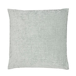 Home Collection - Light blue chenille cushion
