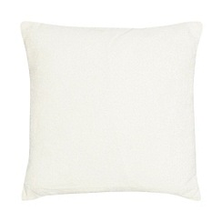 Home Collection - Cream chenille cushion