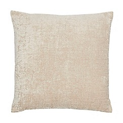 Home Collection - Taupe chenille cushion