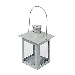 Home Collection Basics - Small white lantern