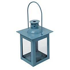 Home Collection Basics - Small blue lantern