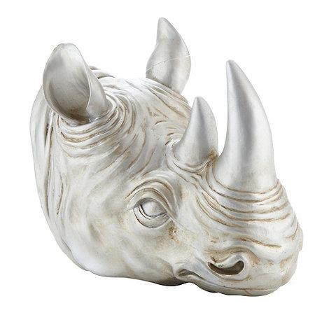 Abigail Ahern/EDITION - Designer silver rhino head