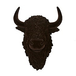 Abigail Ahern/EDITION - Designer dark brown bison head