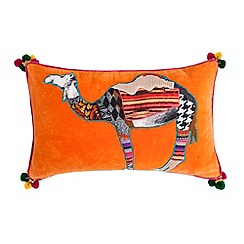 Abigail Ahern/EDITION - Orange camel cushion