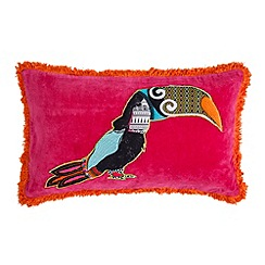 Abigail Ahern/EDITION - Pink toucan cushion