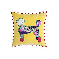 Abigail Ahern/EDITION - Yellow poodle cushion