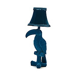 Abigail Ahern/EDITION - Designer dark turquoise toucan lamp