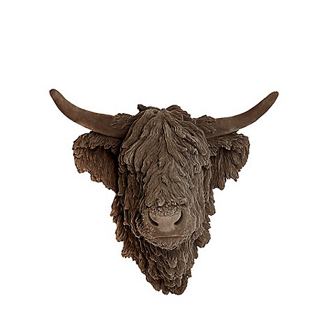 abigail-ahern-edition - Grey highland cow head