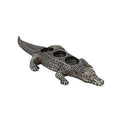 Abigail Ahern/EDITION - Aluminium crocodile tealight holder