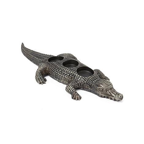 abigail-ahern-edition - Crocodile shaped tea light candle holder
