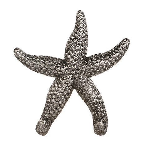 abigail-ahern-edition - Silver starfish shaped wall hook
