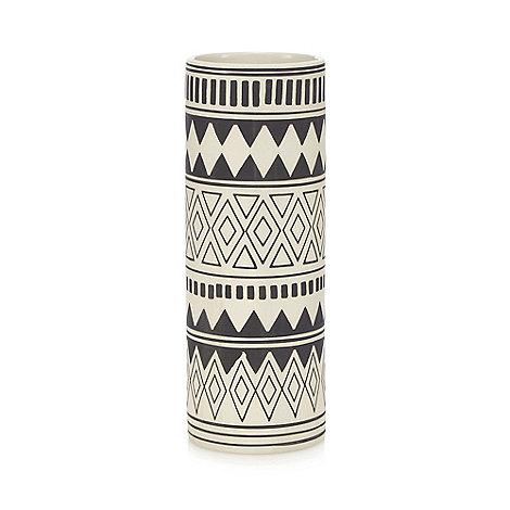 abigail-ahern-edition - Black cylinder vase