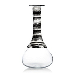 Abigail Ahern/EDITION - Beaded glass bottle vase