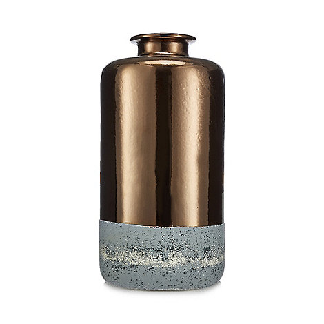 abigail-ahern-edition - Metallic cylindrical vase