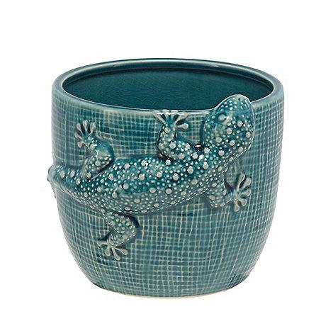 abigail-ahern-edition - Green +Gecko+ designer lizard plant pot