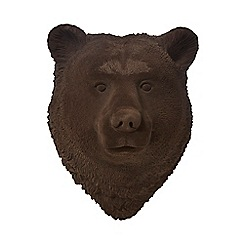 Abigail Ahern/EDITION - Brown bear head wall art