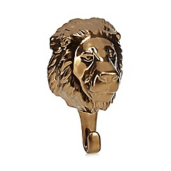 Abigail Ahern/EDITION - Gold lion hook