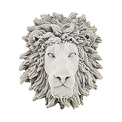 Abigail Ahern/EDITION - Grey lion head wall art