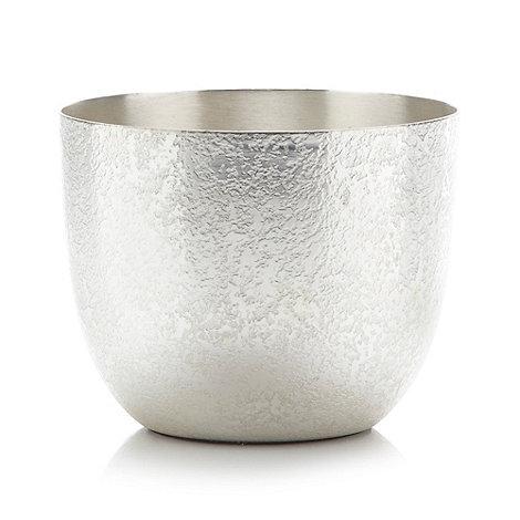 RJR.John Rocha - Designer metal textured bowl