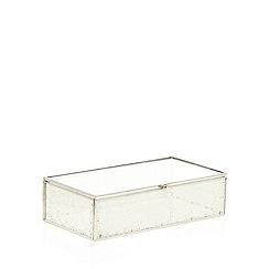 RJR.John Rocha - Designer cream laser cut trinket box
