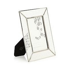 RJR.John Rocha - Designer laser cut paper floral 4 x 6 inch glass photo frame