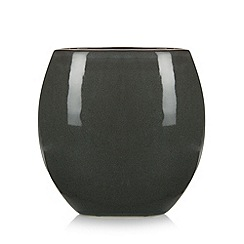 RJR.John Rocha - Designer green reactive half moon vase