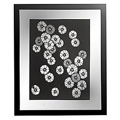 RJR.John Rocha - Designer black laser cut wall art