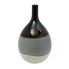 RJR.John Rocha - Reactive round glaze vase