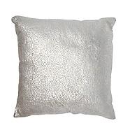 RJR.John Rocha - Designer silver metallic cushion