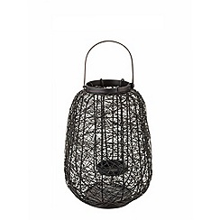 RJR.John Rocha - Small black wire lantern
