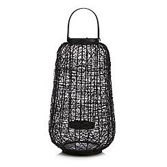 RJR.John Rocha - Black wire lantern