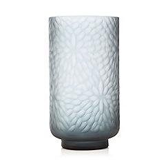 RJR.John Rocha - Blue floral glass vase