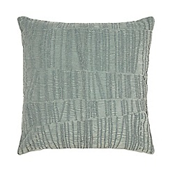RJR.John Rocha - Light blue beaded feather filled cushion