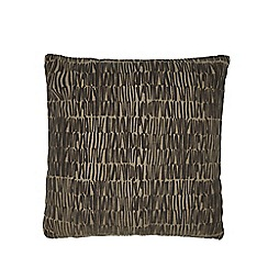 RJR.John Rocha - Natural flocked cushion