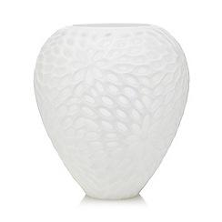 RJR.John Rocha - White textured oval vase