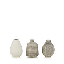 RJR.John Rocha - Set of three assorted bottle vases