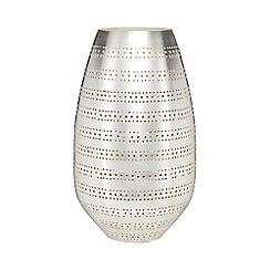 RJR.John Rocha - Small silver punched vase