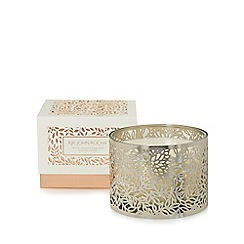 RJR.John Rocha - Silver spiced ginger and mandarin scented candle