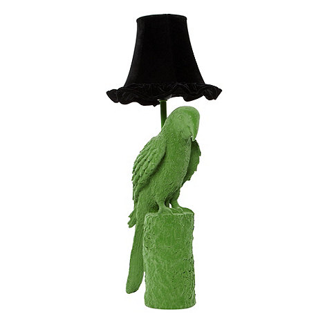 abigail-ahern-edition - Designer green parrot lamp