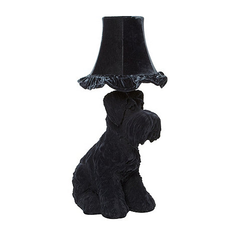 Abigail Ahern/EDITION - Designer dark grey dog lamp