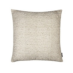Betty Jackson.Black - Designer natural metallic ribbon cushion